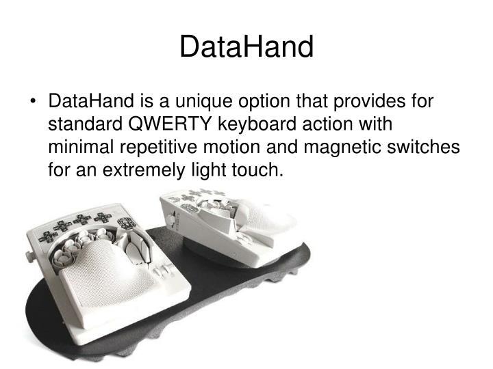 DataHand