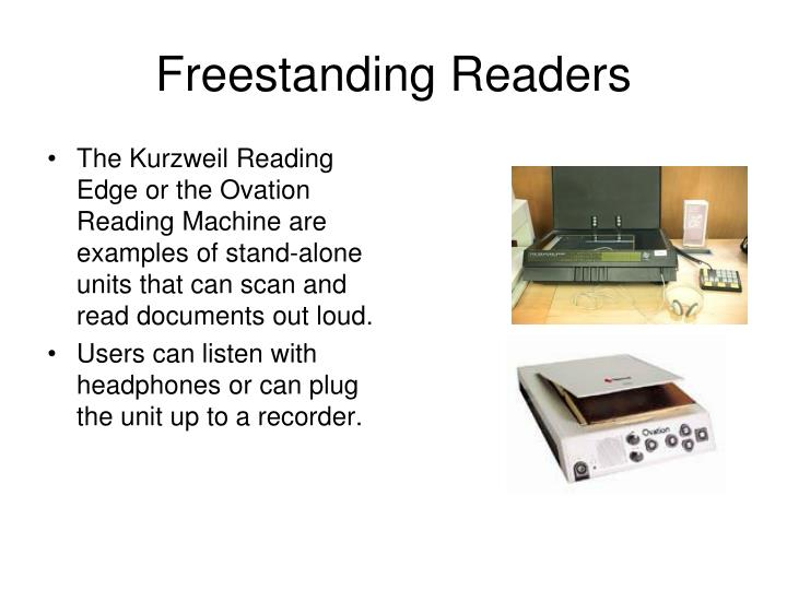 Freestanding Readers