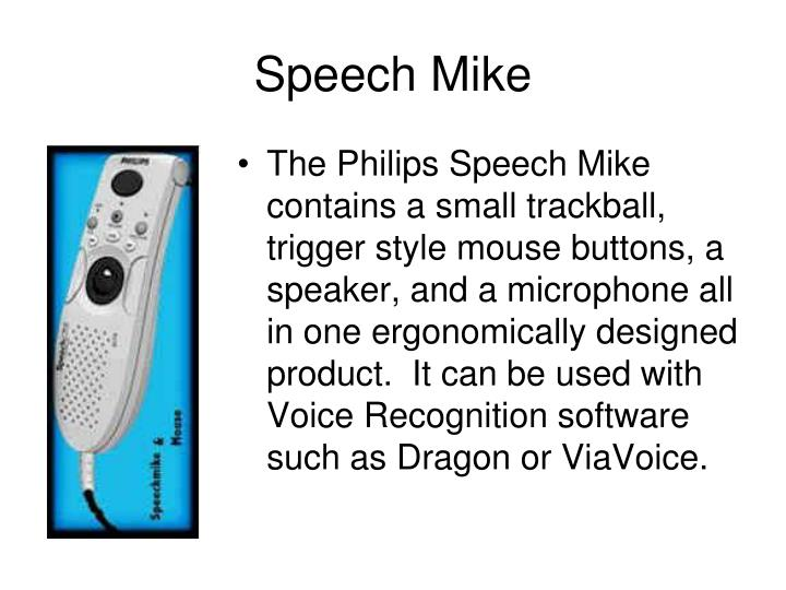 Speech Mike