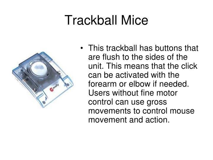 Trackball Mice