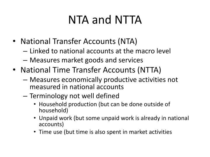 NTA and NTTA