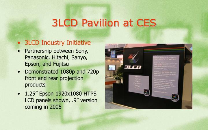 3LCD Pavilion at CES