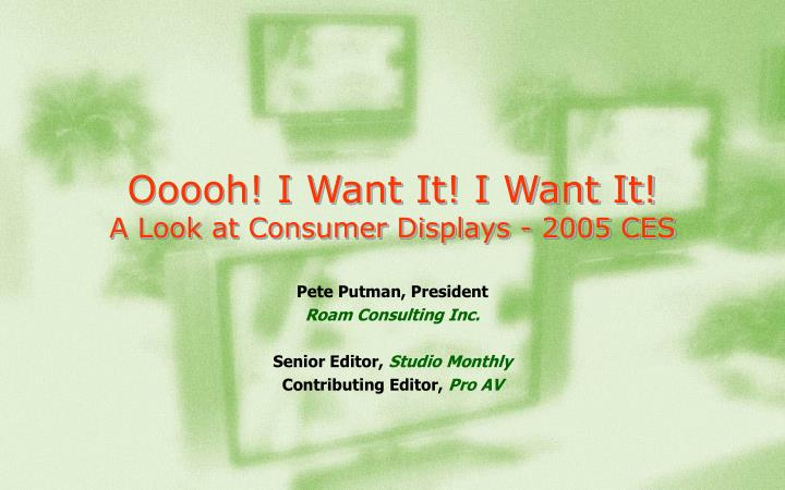 ooooh i want it i want it a look at consumer displays 2005 ces