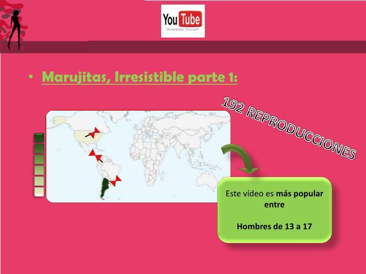 Marujitas, Irresistible parte 1: