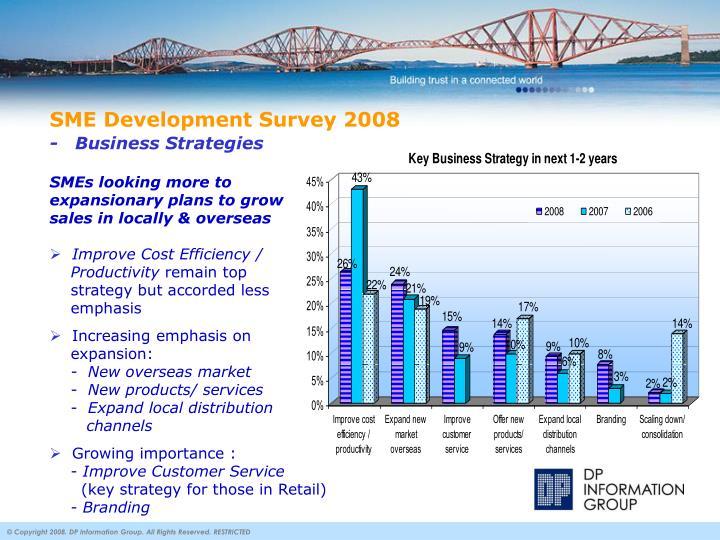 SME Development Survey 2008