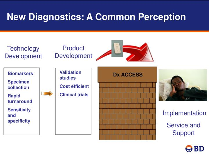 New Diagnostics: A Common Perception
