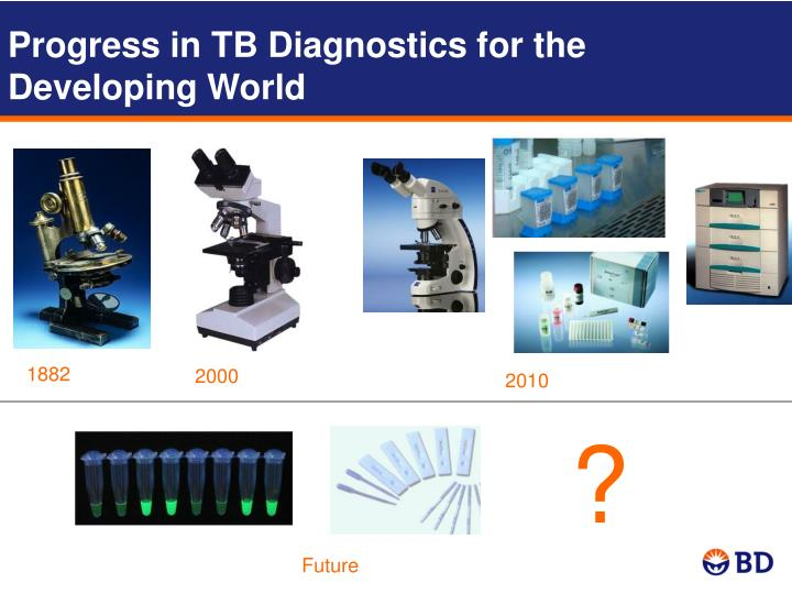 Progress in TB Diagnostics for the Developing World