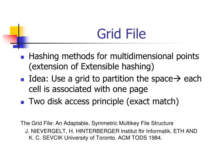 Grid File