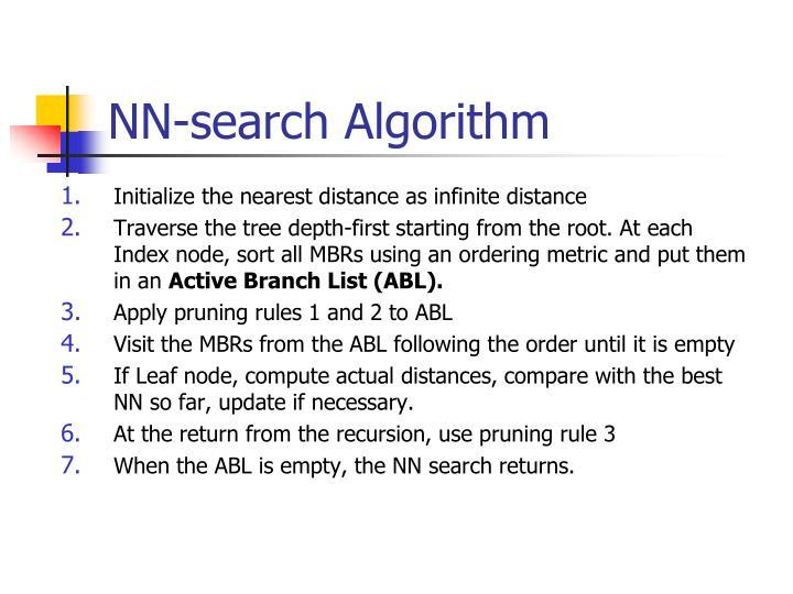 NN-search Algorithm