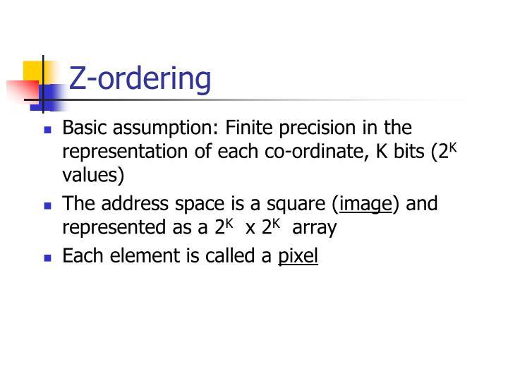 Z-ordering