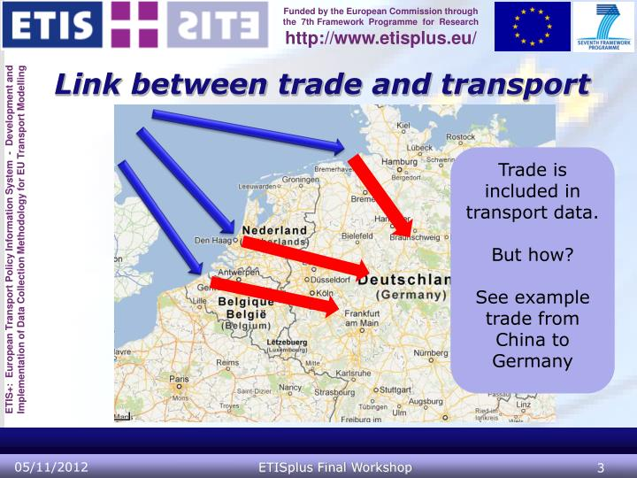 Link between trade and transport
