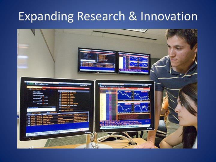 Expanding Research & Innovation
