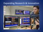 expanding research innovation