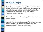 the icem project