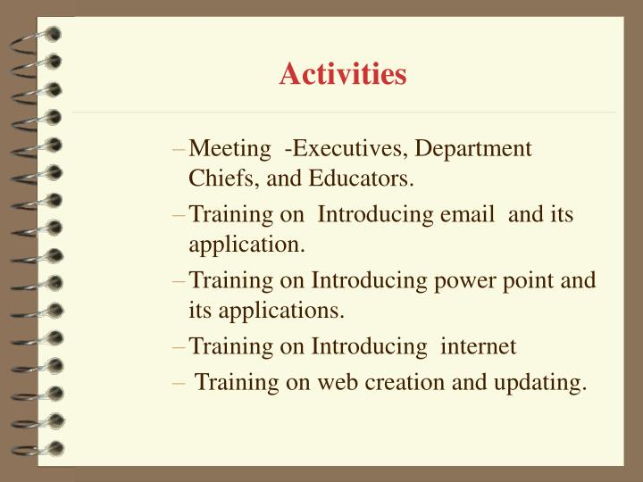 monitoring and evaluation training manual ppt