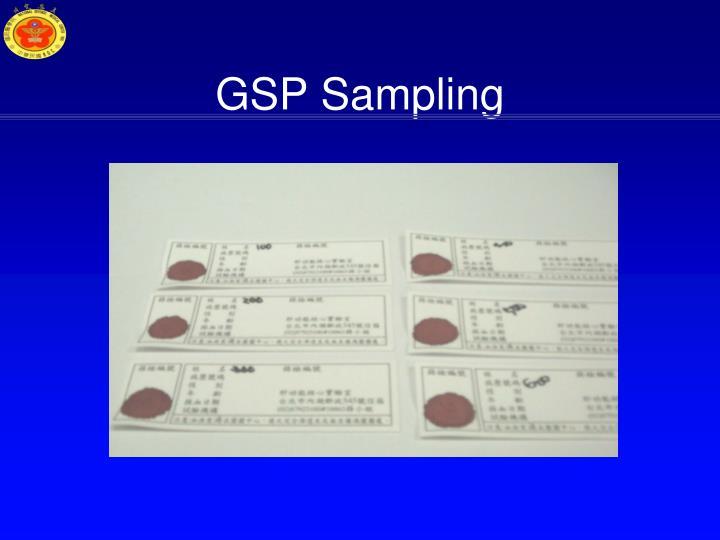 GSP Sampling