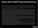 about non gaap financial measures