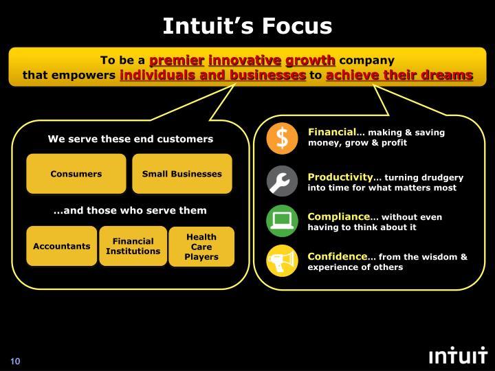 Intuit's Focus