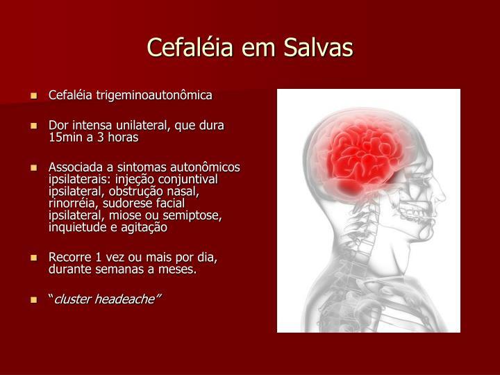 Cefaléia em Salvas