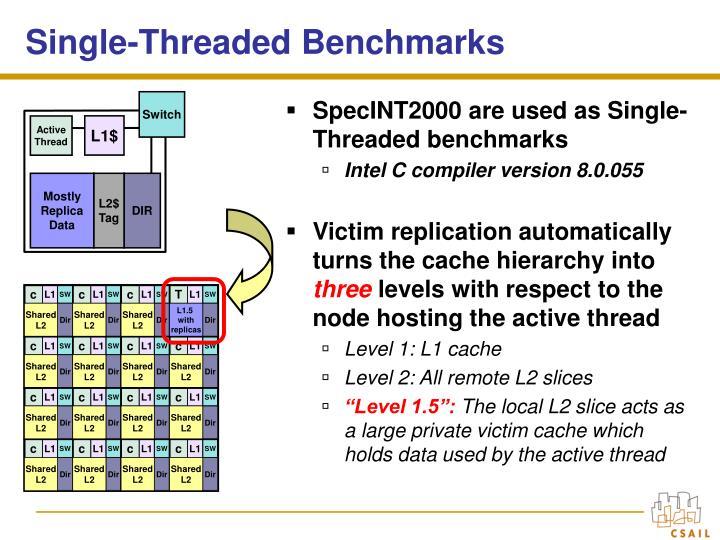 Single-Threaded Benchmarks