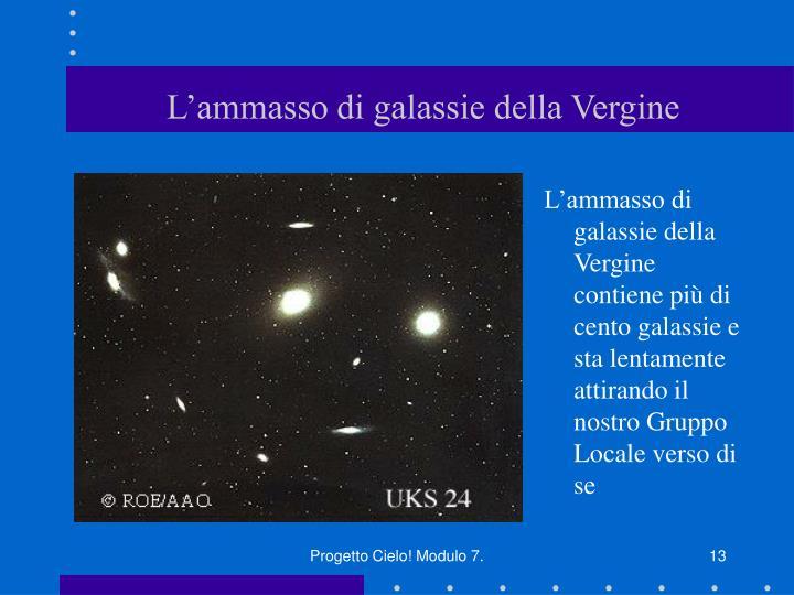 L'ammasso di galassie della Vergine