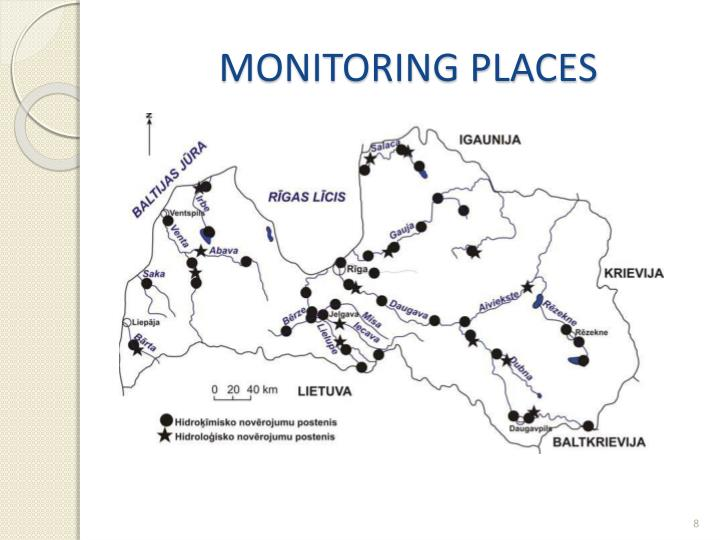MONITORING PLACES