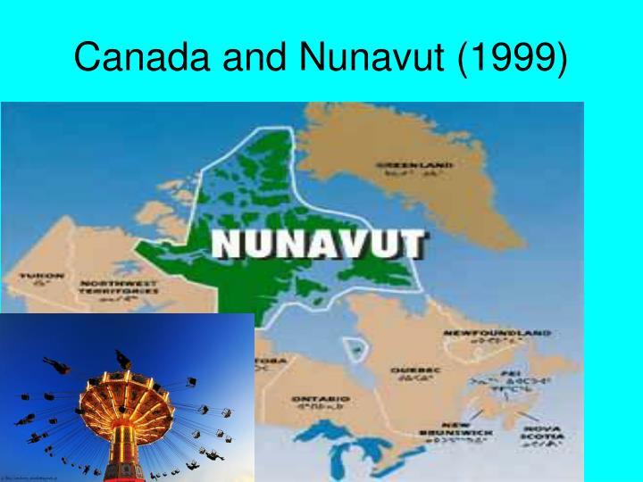 Canada and Nunavut (1999)
