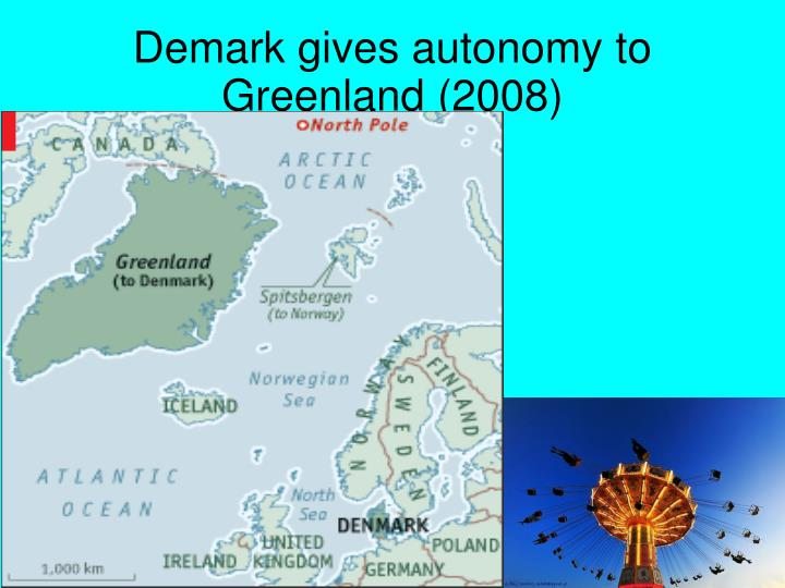 Demark gives autonomy to Greenland (2008)