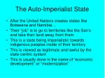 the auto imperialist state