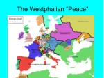the westphalian peace