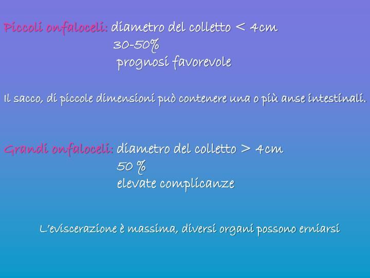 Piccoli onfaloceli: