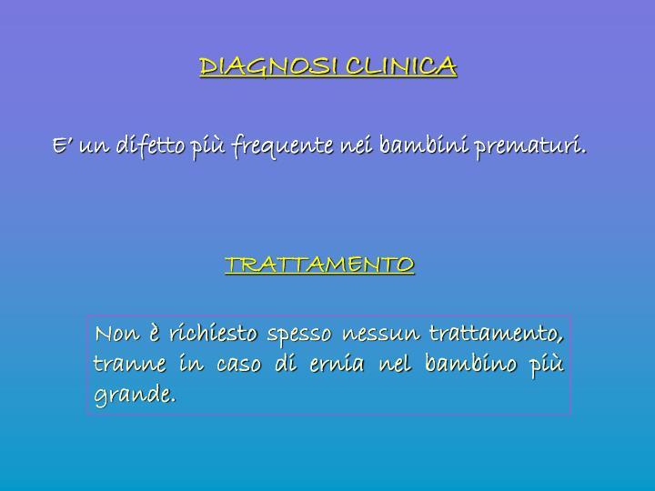 DIAGNOSI CLINICA