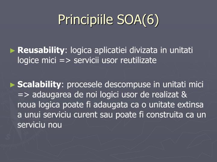 Principiile SOA(6)