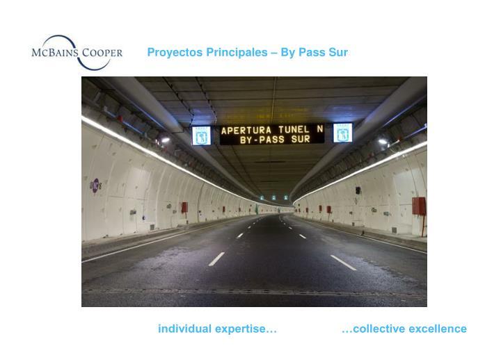 Proyectos Principales – By Pass Sur