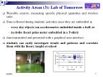 activity areas 3 lab of tomorrow2