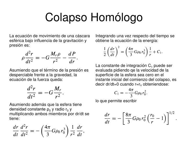 Colapso Homólogo