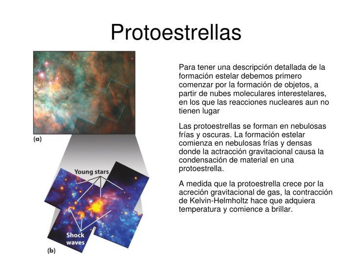 Protoestrellas