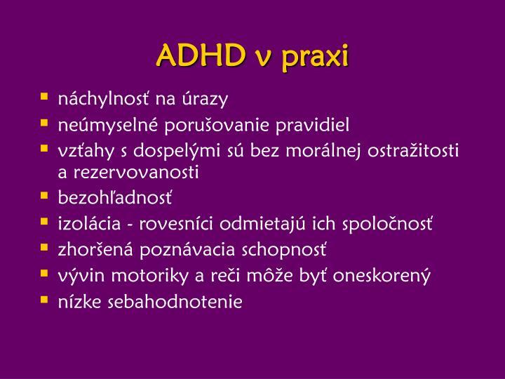ADHD v praxi