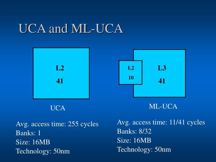 UCA and ML-UCA