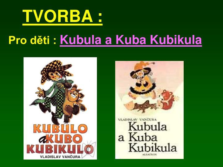 TVORBA :