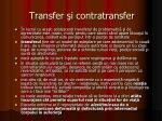 transfer i contratransfer