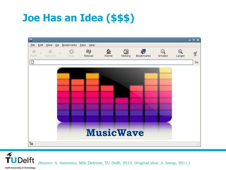 Joe Has an Idea ($$$)