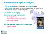 social everything so analytics