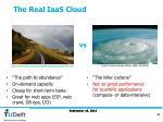 the real iaas cloud
