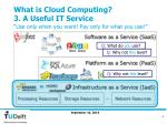 what is cloud computing 3 a useful it service