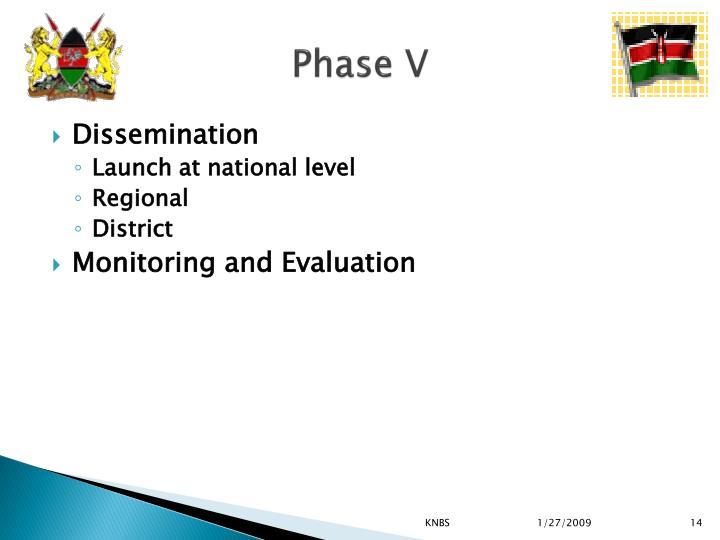 Phase V