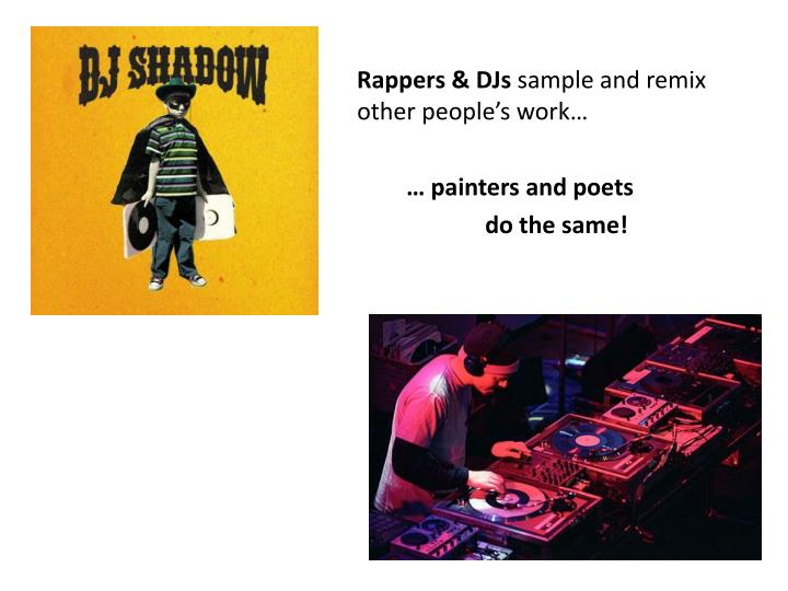 Rappers & DJs