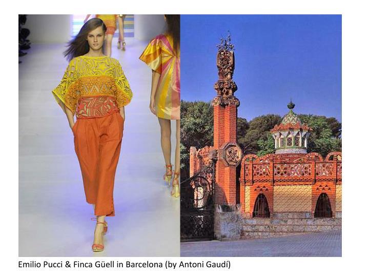 Emilio Pucci & Finca Güellin Barcelona (by Antoni Gaudí)