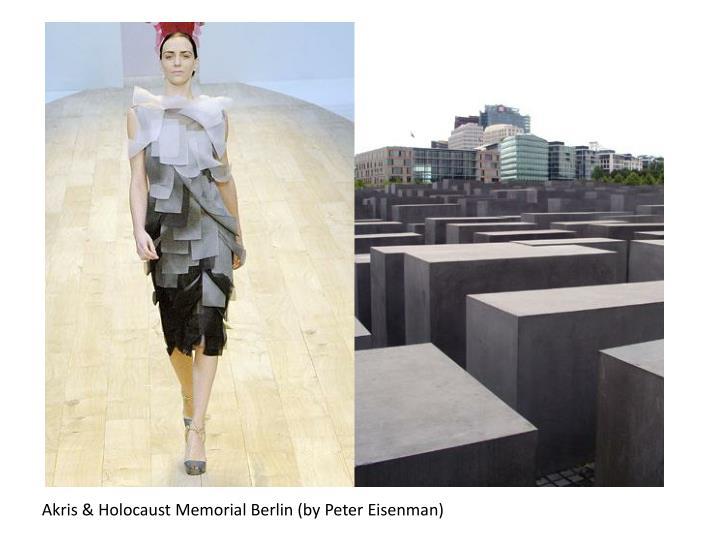 Akris & Holocaust Memorial Berlin (by Peter Eisenman)