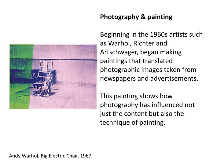 Photography & painting